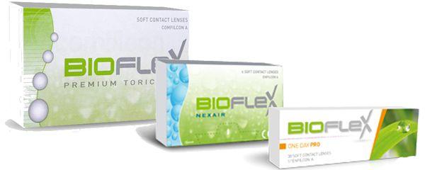 Bioflex kontaktlencsék