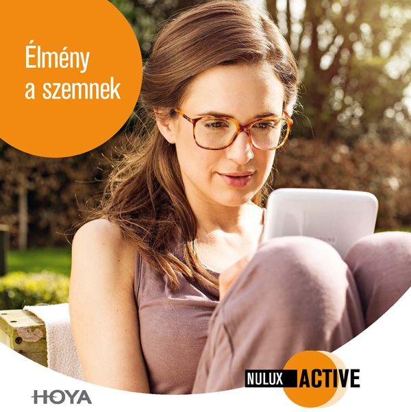 Hoya Nulux Active szemüveglencse