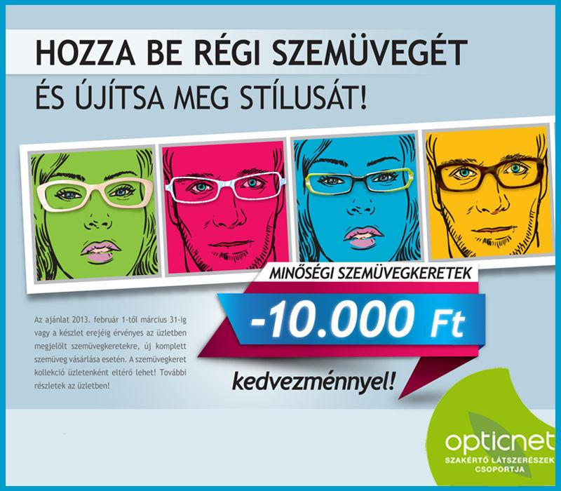 Régi szemüvege most 10 000 Ft-ot ér