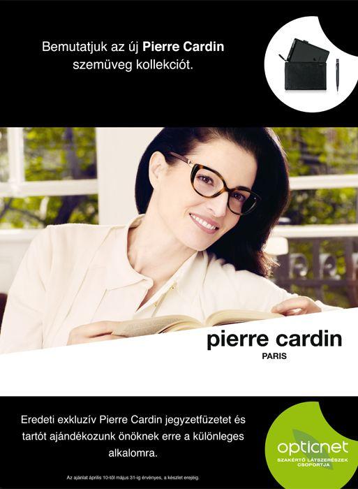 Pierre Cardin szemüveg ajándékkal
