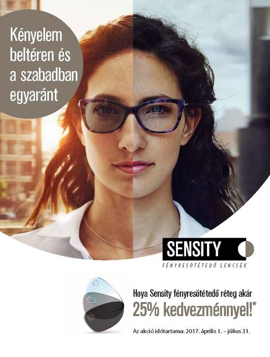 Sensity akció 25% kedvezmény