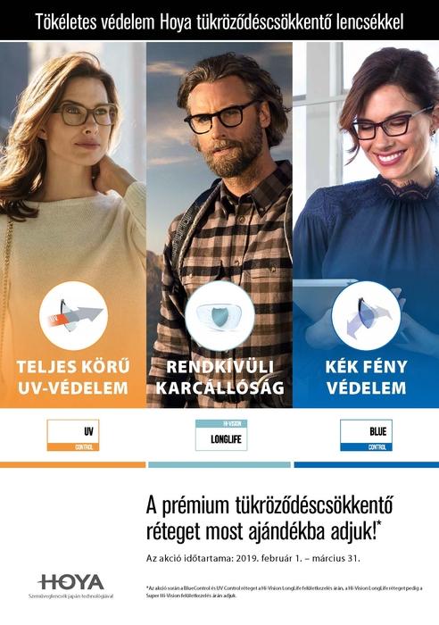 BlueControl, UV Control vagy Hi-Vision LongLife réteg ajándékba!