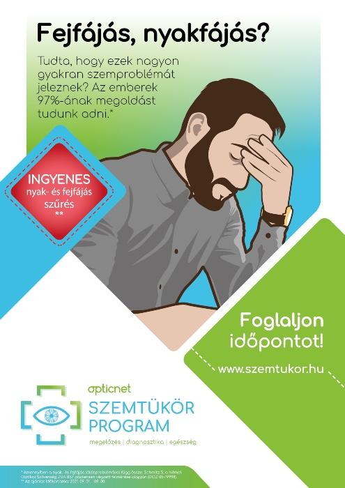 Nyak- és fejfájás szűrés